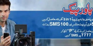 Warid Power Pack Offer
