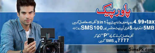 Warid Power Pack