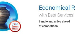 Zong Economy Package – Calls and Economical Rates