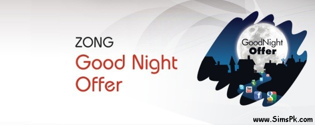 Zong Good Night Offer