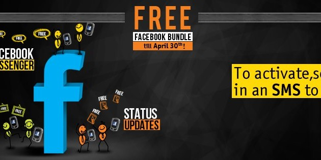 Warid Offers Unlimited Facebook Bundle, Free Till April 30th!