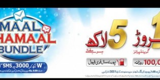 Warid Introduces Maal Dhamaal Bundle