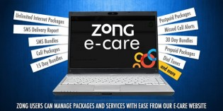 Zong Ecare – Manage your Zong Sim Online