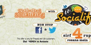 Ufone Socialife Offer – Unlimited Socializing