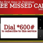 Mobilink Offers Missed Call and SMS Service When You Do not have Credit