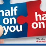 Warid Offers 50 % Discount On New Postpaid Line Rents