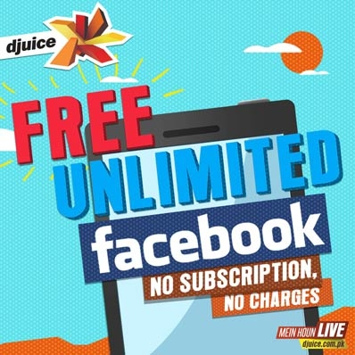 Free Unlimited Facebook Browsing by Djuice
