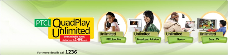 PTCL_Quad_Play_Unlimited_Package