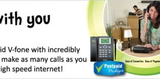Vfone Postpaid Package