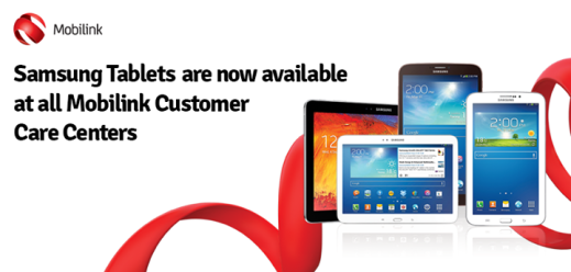 Mobilink Launches 3G Enabled Samsung Tablets