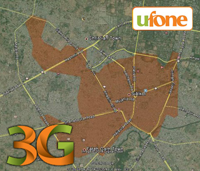 Ufone 3G Trial Sialkot