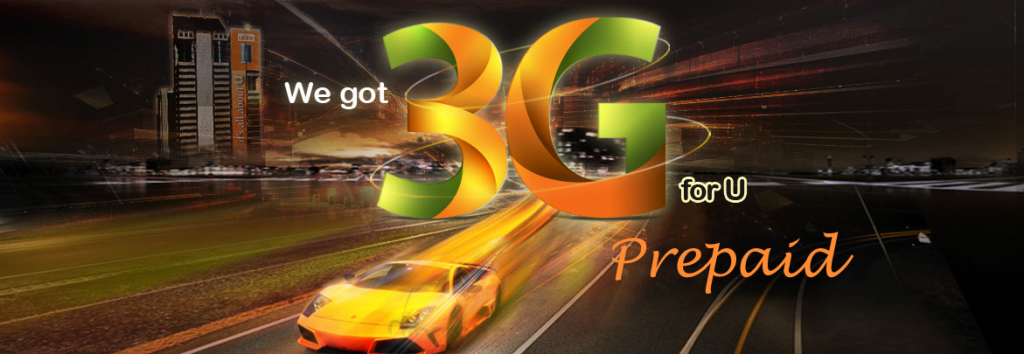Ufone 3G Packages (Prepaid)