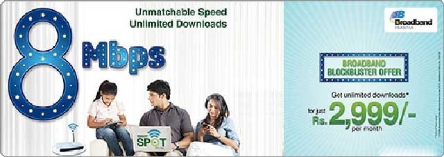 PTCL Launches 8Mbps DSL Package