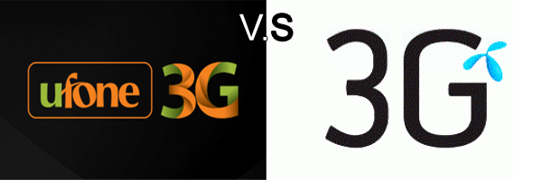 Ufone 3G Packages Vs. Telenor 3G Packages