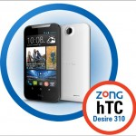 HTC released Desire 310 in Pakistan in partnership with Zong