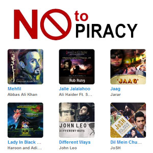 Say no  Piracy with Ufone and Taazi.com