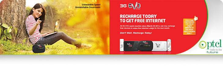 Reconnect EVO Devices to Get Waiver and Free Internet