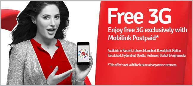 Mobilink is Soon to Launch 3G Packages