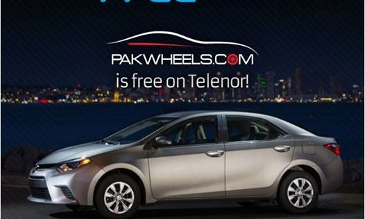 Telenor users to get free access to Pakwheels.com