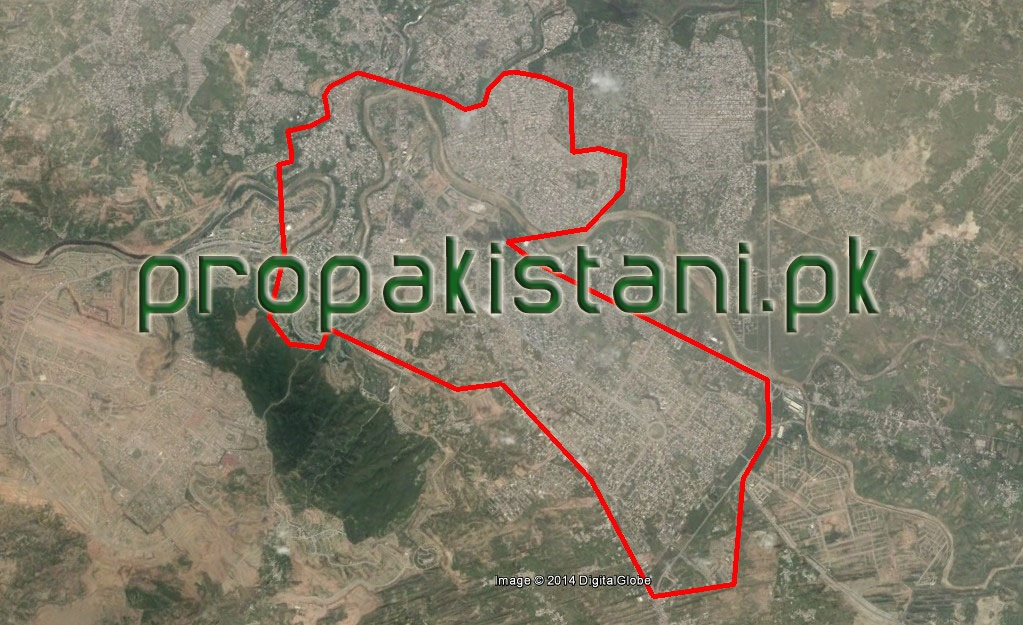Zong 4G Coverage Map In Bahria Town Rawalpindi
