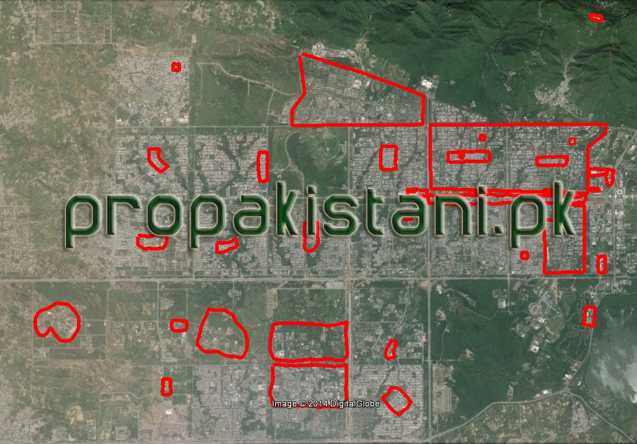 Zong 4G Coverage Map In Islamabad
