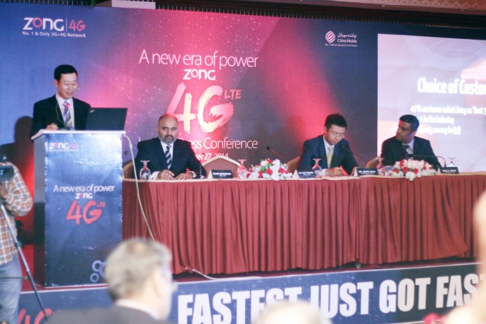 Zong Officially Launches Zong 4G LTE Network in Pakistan