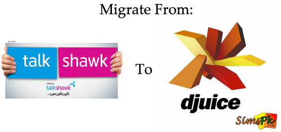 How to Migrate from Talkshawk To Djuice