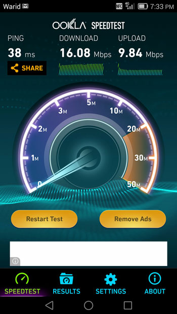 Speed_Tests_of_Warid_4G_LTE 3