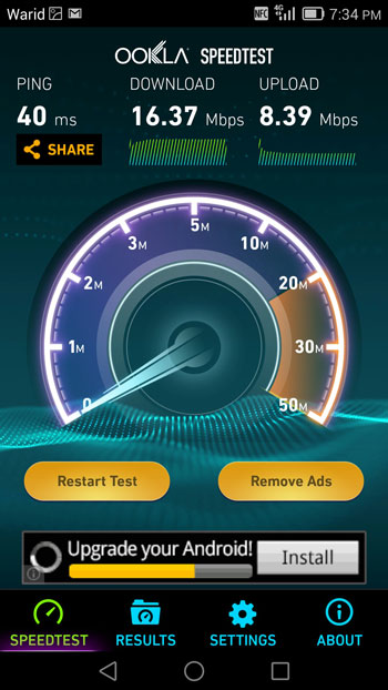 Speed_Tests_of_Warid_4G_LTE 4