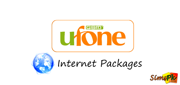 Ufone Hourly, Daily, Weekly, Monthly Internet Packages (2G)