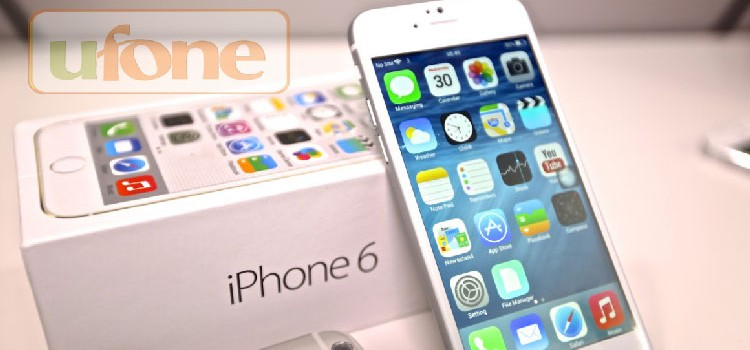 Ufone Launched Pre-Orders of iPhone 6 & iPhone 6 plus in Pakistan