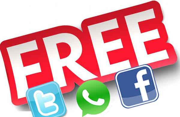 Best Free Facebook, Twitter & WhatsApp