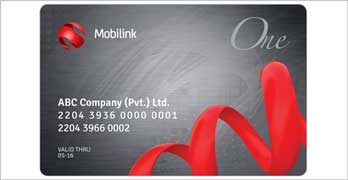 Mobilink One Card Offer