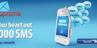 Warid SMS Supreme – 10,000 SMS per Month at Just Rs.60+Tax