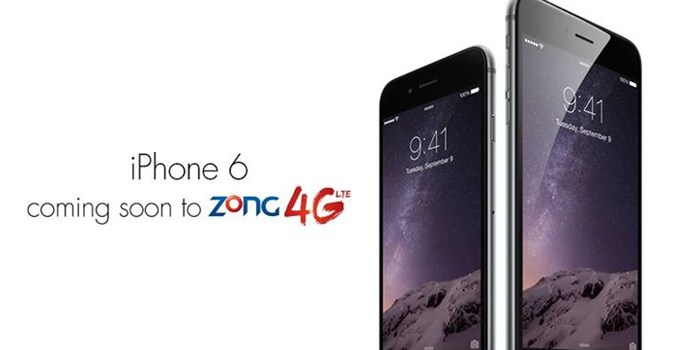 Zong Soon to Offer iPhone 6 and 6 Plus in Pakistan