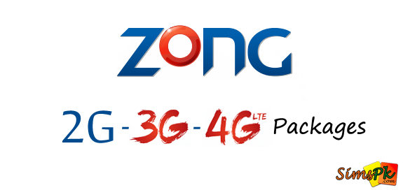 Zong Brings Same Internet Packages for 2G, 3G and 4G