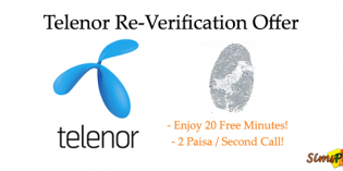 Telenor Re-Verification Offer on Recharge of Talkshawk & Djuice SIM