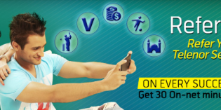 Telenor Refer a Friend Service – Win 30 FREE Minutes