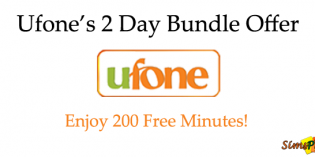 Ufone 2 Day Bundle Offer – Enjoy 200 FREE Minutes