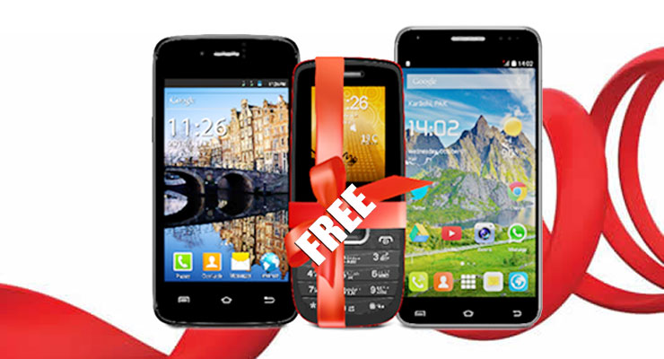 Mobilink Free Mobile Phone Offer on Purchasing Voice X5 or V21