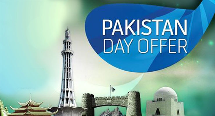 Telenor Pakistan Day Special Internet Offer for 3 Days