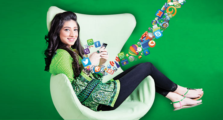 Zong Launches 8Attack Scheme For Free Internet