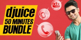Djuice 50 Minutes Bundle Offer – Get FREE On-Net Minutes