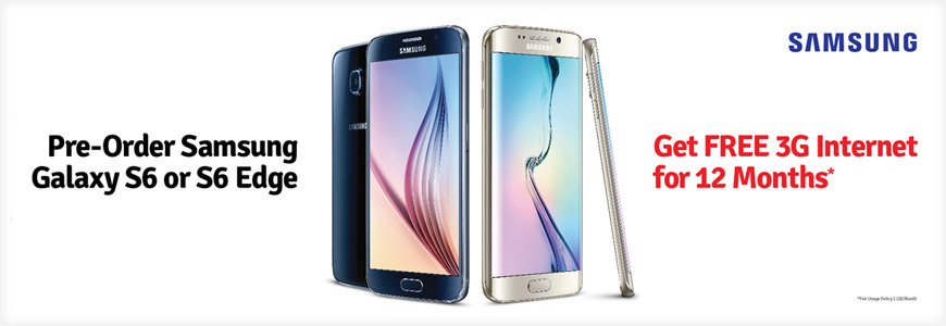 Mobilink Starts Pre-Ordering Of Samsung S6 & S6 Edge