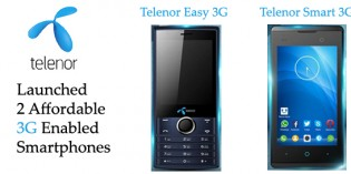 Telenor Launches Two Affordable 3G Enabled Smartphones