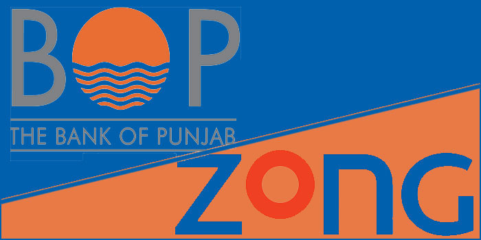 Zong Partners Bank of Punjab for Branchless Banking