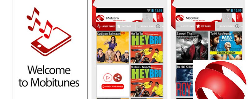 Mobilink Launches Mobitunes Mobile Application for Android