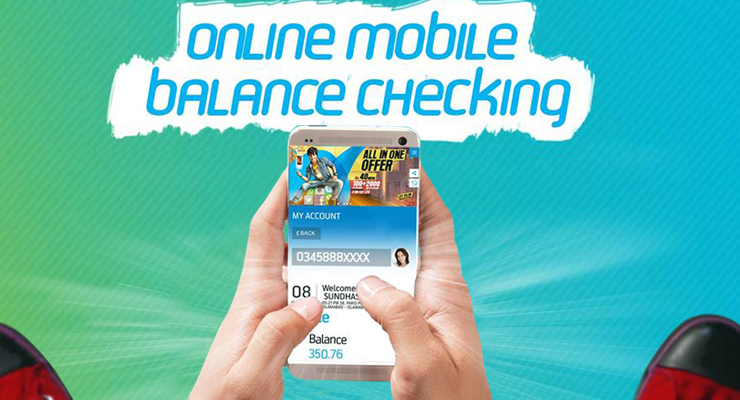 Telenor Web Self-Service Account - Check Your Mobile Balance Online Free