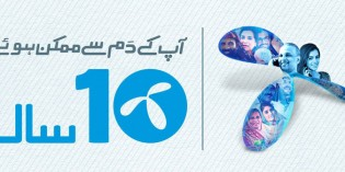 Telenor Celebrates its 10 Years Operation Journey in Pakistan