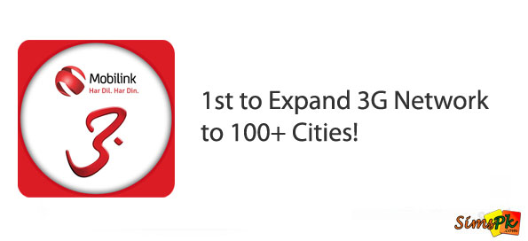Mobilink Becomes 1st Operator to Expand 3G Network to 100+ Cities